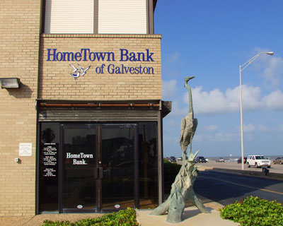 Galveston Seawall branch photo